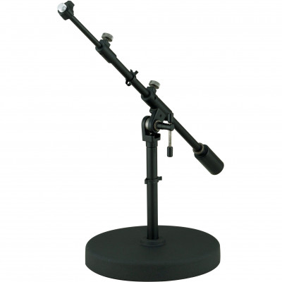 Tama Iron Works Round Base Extra Low-Profile Telescopic Boom Mic Stand