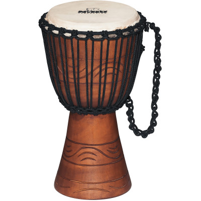 """Meinl NINO African Style Rope Tuned Djembe 8"""" Small Water Series"""