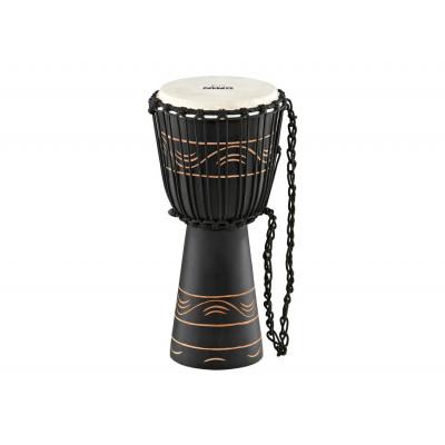 "Meinl NINO African Style Rope Tuned Djembe 10"" Small Moon Rhythm"