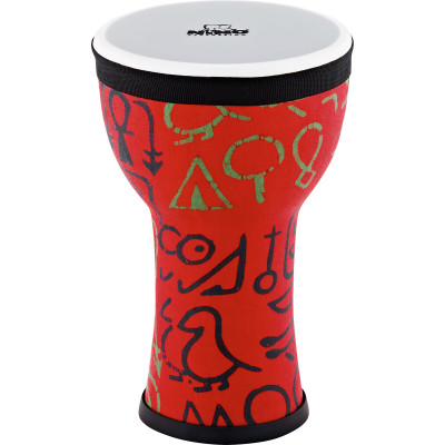 Nino Percussion NINO-EMDJ-PS Elements Mini Synthetic Djembe, Pharaoh's Script
