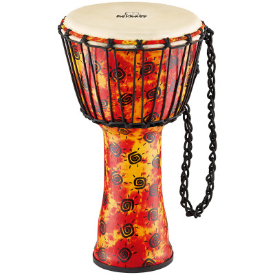 "Meinl NINO 8"" Rope Tuned Synthetic Djembe with Goat Skin Head"