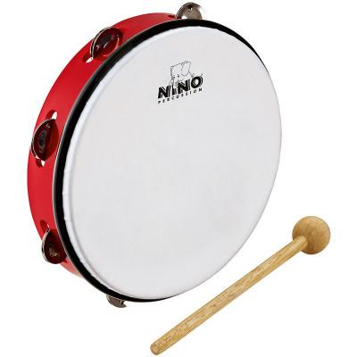 Meinl NINO ABS 10 Tambourine Red
