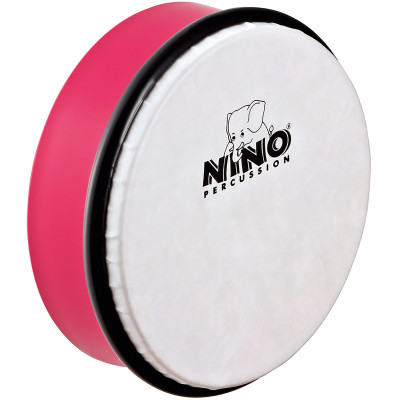 "Meinl NINO ABS 6"" Hand Drum Strawberry Pink"