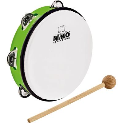 "Meinl NINO ABS 8"" Jingle Drum, Grass-Green"