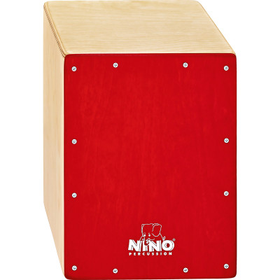 "Meinl NINO Cajon Birch 9 3/4"" L x 13"" H x 9 1/2"" D - Birch Orange"