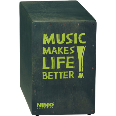 "NINO Better Life Series Cajon, 12"" x 17 3/4"" x 11 3/4"", Grey"