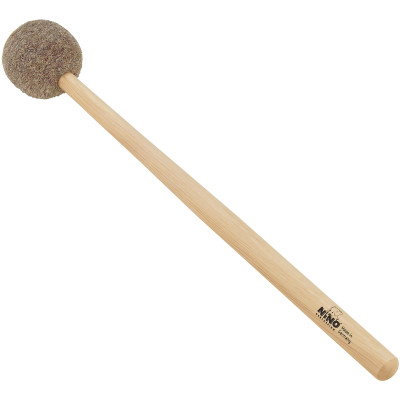Meinl NINO Percussion Mallet, Big Felt Head, Medium Hard