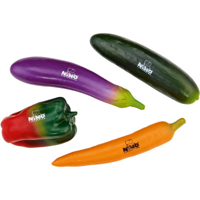 Meinl NINO Botany Shaker Assortment of 4 Pieces Vegetables