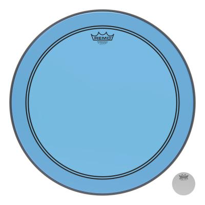 "Remo Powerstroke P3 Colortone Blue Bass Drumhead 18"""