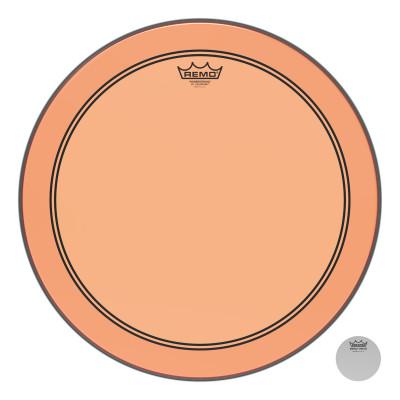 "Remo Powerstroke P3 Colortone Orange Bass Drumhead 18"""