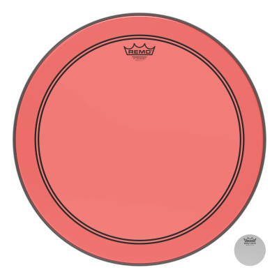 """Remo Powerstroke P3 Colortone Red Bass Drumhead 18"""""""