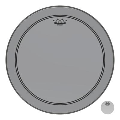 "Remo Powerstroke P3 Colortone Smoke Bass Drumhead 18"""