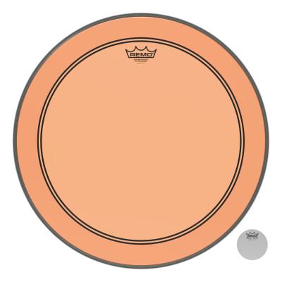 "Remo Powerstroke P3 Colortone Orange Bass Drumhead 20"""