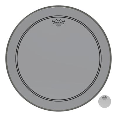 "Remo Powerstroke P3 Colortone Smoke Bass Drumhead 20"""