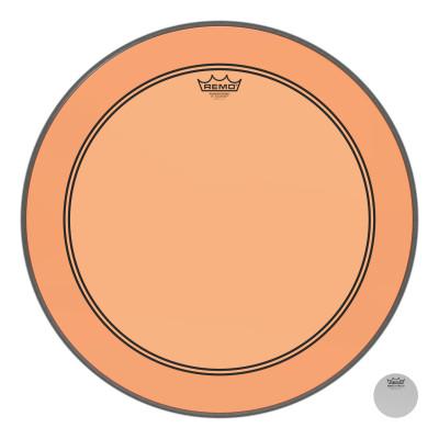 "Remo Powerstroke P3 Colortone Orange Bass Drumhead 22"""