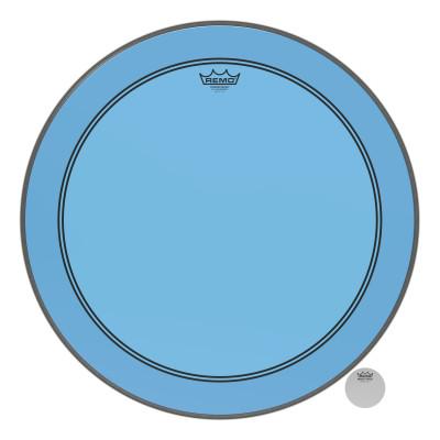 "Remo Powerstroke P3 Colortone Blue Bass Drumhead 24"""