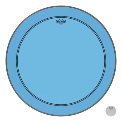 "Remo Powerstroke P3 Colortone Blue Bass Drumhead 26"""