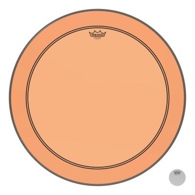 "Remo Powerstroke P3 Colortone Orange Bass Drumhead 26"""