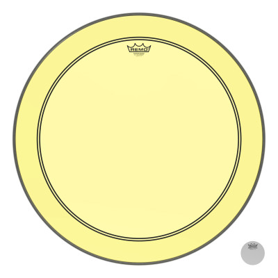 Remo Powerstroke P3 Colortone Yellow Bass Drumhead 26""