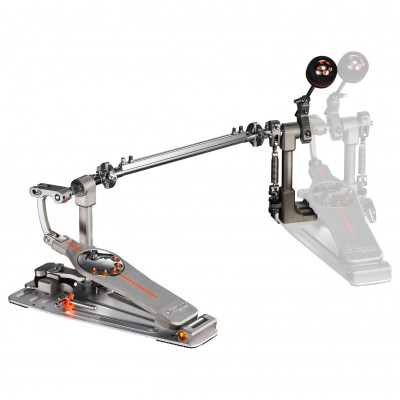 Pearl Demon Chain Drive Double Pedal Conversion Kit w/ Case