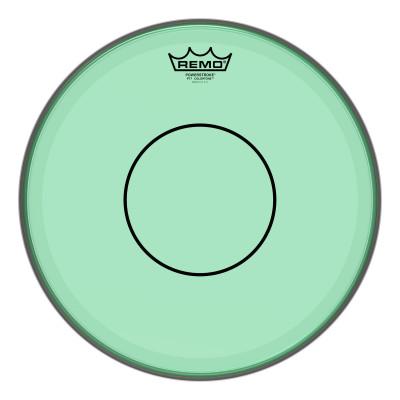 "Remo Powerstroke 77 Colortone Green Drumhead 13"""