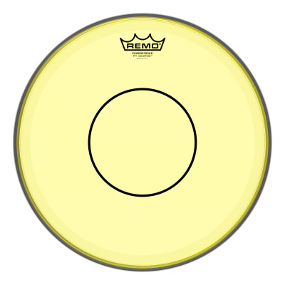 Remo Powerstroke 77 Colortone Yellow Drumhead 13""