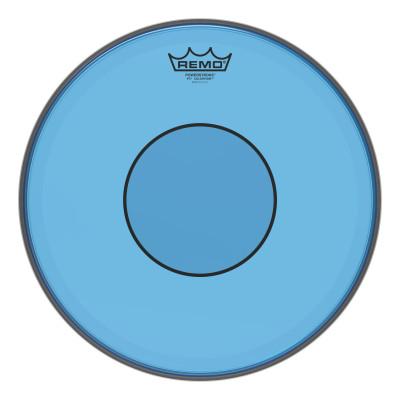 "Remo Powerstroke 77 Colortone Blue Drumhead 14"""