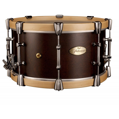 """Pearl Philharmonic Snare 15""""x8"""" African Mahogany w/ Maple Hoops"""