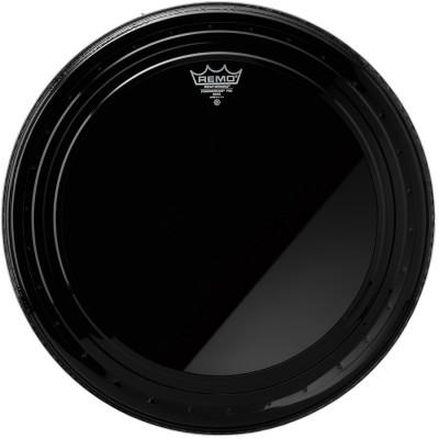 Remo POWERSTROKE PRO Bass Drum Head - Ebony 24 inch