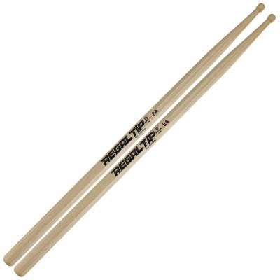 Regal Tip 8A Hickory Drum Sticks - Wood Tip