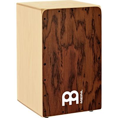 "Meinl 11 3/4"" X 19 3/4"" Snarecraft Cajon, Dark Eucalyptus Frontplate"