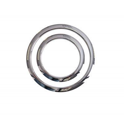 "Gibraltar SC-GPHP-4C Port Hole Protector Ring 4"" Chrome"
