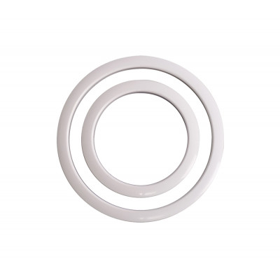 "Gibraltar SC-GPHP-6W Port Hole Protector Ring 6"" White"