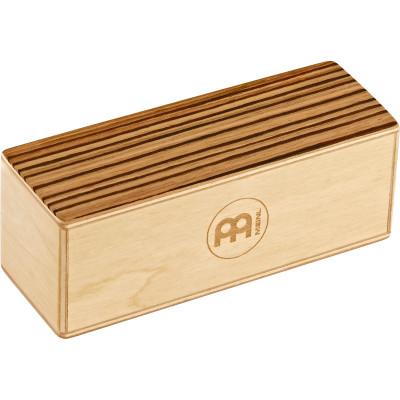 Meinl Wood Shaker, Small, Exotic Zebrano