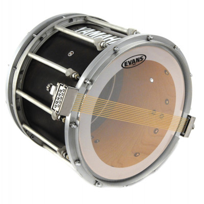 "Evans 13"" MS3 Marching Drum Snare Side Head - Clear"