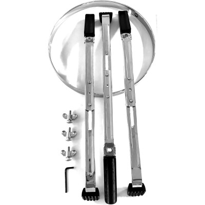 """Meinl 11 3/4"""" stand for MEC congas, chrome"""