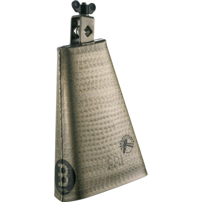 """Meinl Hand Hammered 8"""" Big Mouth Hand Brushed Gold Finish Cowbell"""