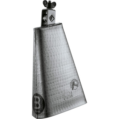 """Meinl Hand Hammered 8"""" Big Mouth Hand Brushed Steel Finish Cowbell"""
