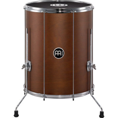 "Meinl Stand Alone Wood Surdo 18"" x 22"" with legs African Brown"