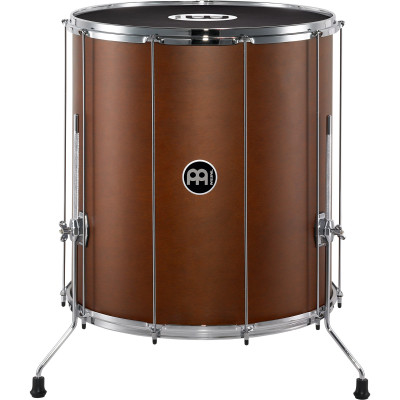 "Meinl Stand Alone Wood Surdo 22"" x 24"" with legs African Brown"
