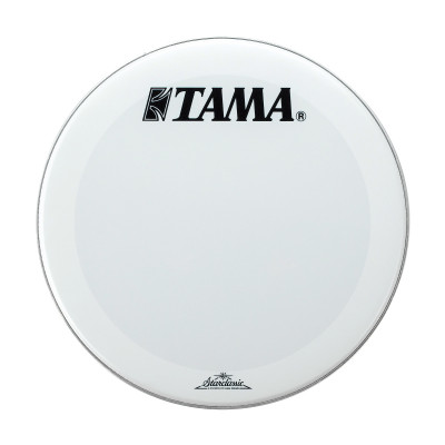 "Tama 20"" Smooth White Front Head w/ Starclassic Logo"