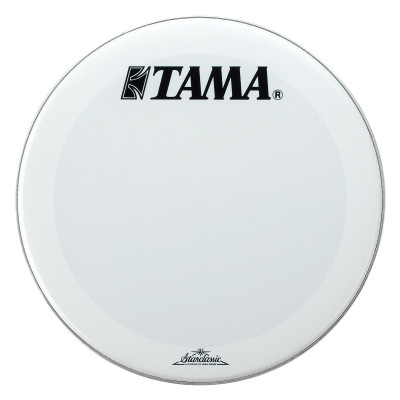 "Tama 22"" Smooth White Front Head w/ Starclassic Logo"