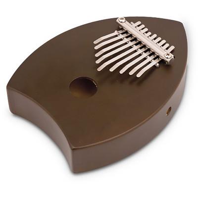 Toca Tocalimba Thumb Piano with Sound Chamber, Large, Walnut