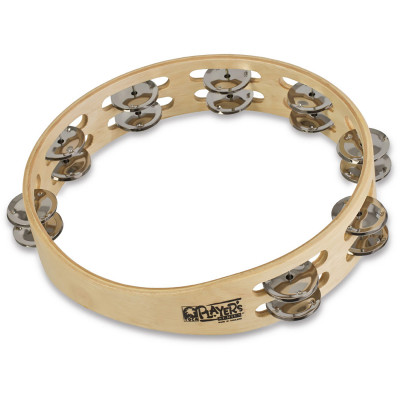 "Toca 10"" Double Row Wood Tambourine, no head"