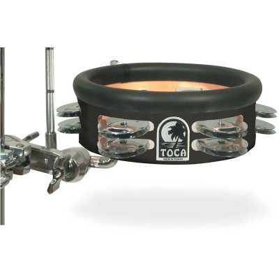 "Toca 6"" Jingle-Hit Tambourine with Gibraltar Mount"