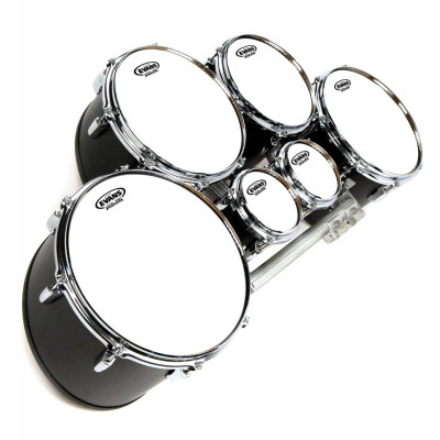 "Evans 13"" MX Marching Tenor Head White"