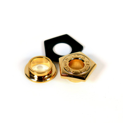 Pearl Golden Ratio Cast Air Vent for 4 ply Shells - Gold