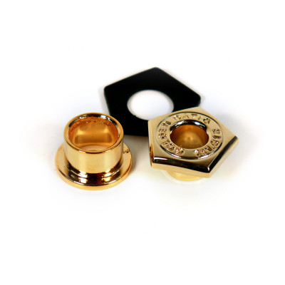 Pearl Golden Ratio Cast Air Vent for 8 ply & 10 ply Shells - Gold