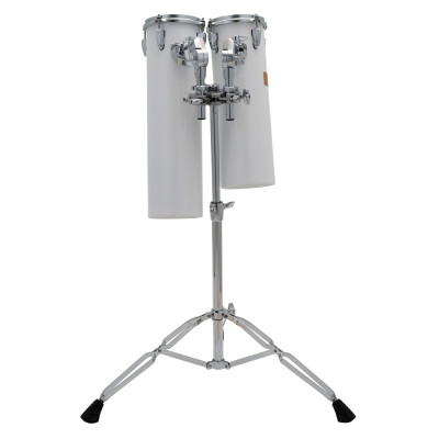 """Pearl Rocket Tom Large Set - 6""""x18"""" & 6""""x21"""" with T-890 Tom Stand"""
