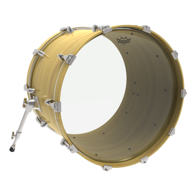 Remo Ambassador Clear Bass Drumheads
